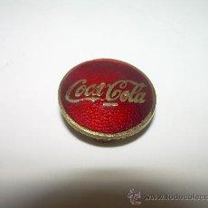 Coleccionismo de Coca-Cola y Pepsi: ANTIGUA INSIGNIA ESMALTADA.....COCA COLA.. Lote 27984276