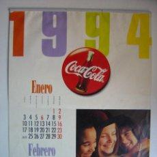 Coleccionismo de Coca-Cola y Pepsi: CALENDARIO COCA-COLA - AÑO 1994. Lote 28423885
