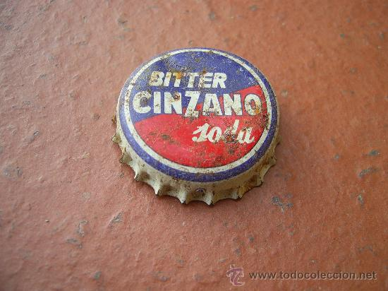 1 antigua chapa bitter cinzano con corcho fab comprar - Chapa coca cola pared ...