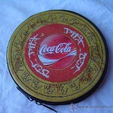 Coleccionismo de Coca-Cola y Pepsi: ESTUCHE PORTA CD´S COCA - COLA. Lote 28751711