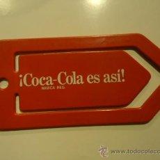 Coleccionismo de Coca-Cola y Pepsi: PINZA CLIP PUBLICIDAD COCA-COLA AÑOS 80'. Lote 28956313