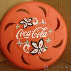 Coleccionismo de Coca-Cola y Pepsi: FREESBI - DISCO VOLADOR - COCA COLA - COKE - COCACOLA . Lote 30171928