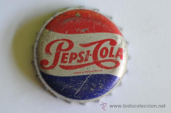 Antigua chapa de pepsi cola espa a a os 70 comprar - Chapa coca cola pared ...