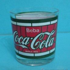 Coleccionismo de Coca-Cola y Pepsi: VASO COCA - COLA. EN BASE ELSA SPAIN. ALTURA 8,5 CM. Lote 30296399