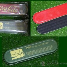 Coleccionismo de Coca-Cola y Pepsi: CAJITA PLUMIER COCA-COLA - MADE IN FRANCE AÑO 1997 (NUEVA A ESTRENAR). Lote 30980450