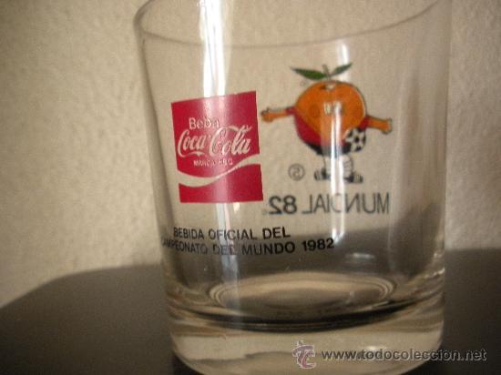 Coleccionismo de Coca-Cola y Pepsi: vaso coca cola mundial 82 - Foto 2 - 31265129