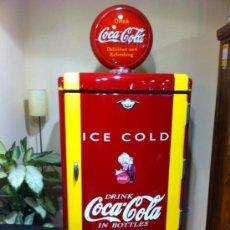 Coleccionismo de Coca-Cola y Pepsi: NEVERA DE COCA COLA ...........SE ADMITE PAGOS A PLAZOS. Lote 31608890
