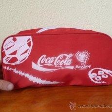 Coleccionismo de Coca-Cola y Pepsi: BOLSO ZAPATILLAS - COCA COLA - EUROCOPA 2004 PORTUGAL. Lote 31655365