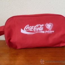 Coleccionismo de Coca-Cola y Pepsi: BOLSO ZAPATILLAS - COCA COLA - EUROCOPA 2004 PORTUGAL. Lote 31655402