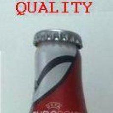 Coleccionismo de Coca-Cola y Pepsi: BOTELLA COCA COLA ALUMINIO EUROCOPA 2012. ESPAÑA NUEVA Y LLENA. Lote 40243433