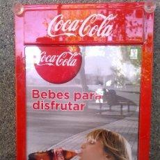 Coleccionismo de Coca-Cola y Pepsi: PRECIOSO CARTEL DE COCACOLA.. Lote 31883935