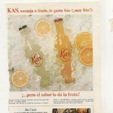 Coleccionismo de Coca-Cola y Pepsi: RECORTE // KAS . Lote 32256157