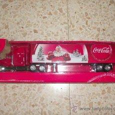 Coleccionismo de Coca-Cola y Pepsi: CAMIÓN PROMOCIONAL COCA-COLA COMPLETAMENTE NUEVO. Lote 32629276
