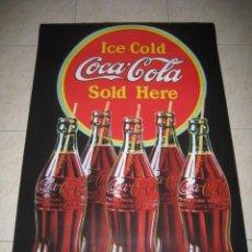 Coleccionismo de Coca-Cola y Pepsi: POSTER DE COCA - COLA. COKE . Lote 32885623