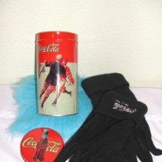 Coleccionismo de Coca-Cola y Pepsi: - COCA COLA / COCACOLA ---- LATA CON GUANTES.. Lote 33049433