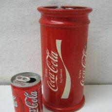 Coleccionismo de Coca-Cola y Pepsi: KIT COCA-COLA : ALBARELO COBI OLIMPIADAS FUTBOL MUSICA DEPORTE PIN COLECCION ARTICULOS PUBLICIDAD. Lote 44074548