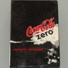 Coleccionismo de Coca-Cola y Pepsi: BARAJA DE CARTAS PÓKER. COCA COLA ZERO. COCA COLA. PRECINTADA. . Lote 33391411