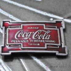 Coleccionismo de Coca-Cola y Pepsi: PRECIOSA HEBILLA DE CINTURÓN DE COCA-COLA, COCA COLA, COCACOLA. Lote 175359774
