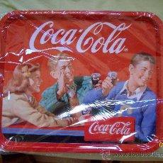 Coleccionismo de Coca-Cola y Pepsi: BANDEJA METALICA DE COCA COLA COCACOLA. Lote 34039549