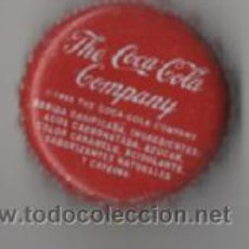 Coleccionismo de Coca-Cola y Pepsi: CHAPA COCA-COLA . Lote 34521229