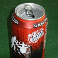 Coleccionismo de Coca-Cola y Pepsi: LATA COCA-COLA: COKE LIVE FESTIVAL 2009. Lote 34559889
