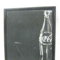 Coleccionismo de Coca-Cola y Pepsi: 49 CM - ANTIGUA PIZARRA PARA MENU ORIGINAL DE COCA-COLA PUBLICIDAD. Lote 34618561