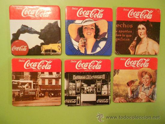 POSAVASOS COCA COLA (Coleccionismo - Botellas y Bebidas - Coca-Cola y Pepsi)