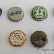Coleccionismo de Coca-Cola y Pepsi: LOTE CHAPAS CORONA AGUA. Lote 35503124