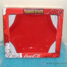 Coleccionismo de Coca-Cola y Pepsi: - COCA COLA - PLATO BANDEJA PARA APERITIVOS - NAVIDAD. Lote 35781431