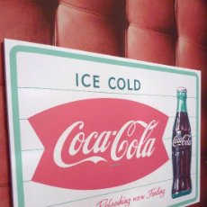 Coleccionismo de Coca-Cola y Pepsi: CUADRO COCA-COLA ESTILO RETRO VINTAGE,. Lote 35821596