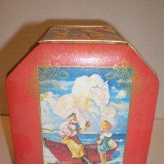 Coleccionismo de Coca-Cola y Pepsi: CAJA DE CHAPA COCA COLA AÑOS 80. Lote 36060113