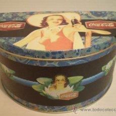 Coleccionismo de Coca-Cola y Pepsi: CAJA DE CHAPA COCA COLA AÑOS 80. Lote 36060456