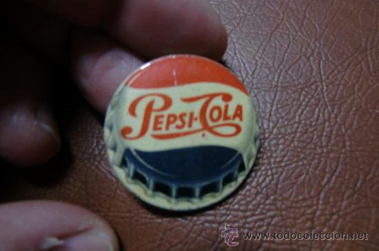 CHAPA ANTIGUA METALICA BEBIDA PEPSI COLA (Coleccionismo - Botellas y Bebidas - Coca-Cola y Pepsi)
