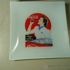 Coleccionismo de Coca-Cola y Pepsi: 1 PLATO RETRO. COCA-COLA. CONMEMORACIÓN 125 AÑOS.. 20 X 20 CMS.. Lote 36638914