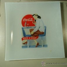 Coleccionismo de Coca-Cola y Pepsi: 1 PLATO RETRO. COCA-COLA. CONMEMORACIÓN 125 AÑOS. 20 X 20 CMS. . Lote 36638933