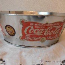 Coleccionismo de Coca-Cola y Pepsi: MOLDE DE HOJALATA DE COCA COLA Y BURGER KING. Lote 36807868