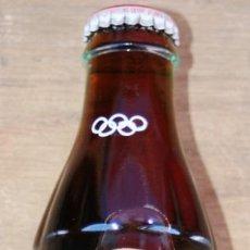 Coleccionismo de Coca-Cola y Pepsi: BOTELLA ORIGINAL DE COCACOLA JUEGOS OLIMPICOS ATLANTA 1996 SIN ABRIR RAREZA EN EL LOGO DE COCACOLA. Lote 36855192