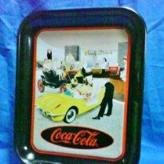 Coleccionismo de Coca-Cola y Pepsi: BANDEJA METAL - COCA-COLA - OFICIAL / EEUU - FAMILY DRIVE-IN - VER FOTO - AÑO 1995. Lote 37133545