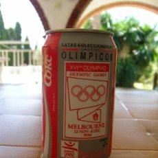 Coleccionismo de Coca-Cola y Pepsi: COCA COLA LATA VACIA CARTELES OLÍMPICOS Nº 1 MELBOURNE OLIMPIADA BARCELONA 92. Lote 37232246