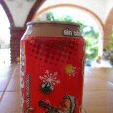 Coleccionismo de Coca-Cola y Pepsi: LATA COCA COLA SIN CAFEINA VACÍA PAPA NOEL CHRISTMAS NAVIDAD 2003. Lote 37232735