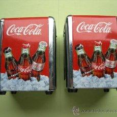 Coleccionismo de Coca-Cola y Pepsi: 2 SERVILLETEROS COCA COLA. Lote 37264253