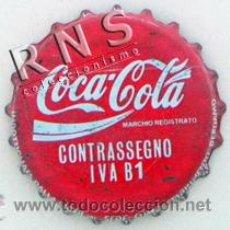 Coleccionismo de Coca-Cola y Pepsi: CHAPA DE COCA COLA ITALIANA - CREO QUE ANTIGUA - ITALIA EUROPA - BEBIDA REFRESCO. Lote 37523107