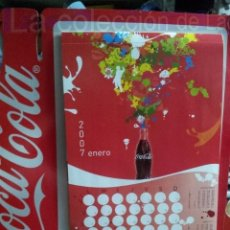 Coleccionismo de Coca-Cola y Pepsi: CALENDARIO DE PARED COCA-COLA,COCACOLA,COCA COLA 2007. Lote 133678934
