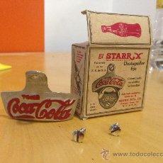Coleccionismo de Coca-Cola y Pepsi: IMPRESIONANTE ABRIDOR DE COCA-COLA AÑOS 50 EN SU CAJA ORIGINAL. SIN USAR, COMO NUEVO. DESTAPADOR.. Lote 38069054
