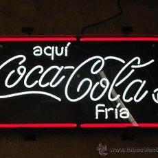 Coleccionismo de Coca-Cola y Pepsi: CARTEL LUMINOSO DE NEÓN DE LA MARCA COCA-COLA, TOTALMENTE NUEVO A ESTRENAR, IDEAL COLECCIONISTA.. Lote 133907798