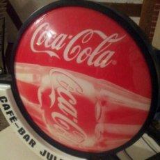 Coleccionismo de Coca-Cola y Pepsi: CARTEL LUMINOSO DE COCA COLA. Lote 38579657