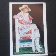 Coleccionismo de Coca-Cola y Pepsi: BONITA POSTAL DE LA CASA COCA COLA SIN ESCRIBIR. Lote 38612085
