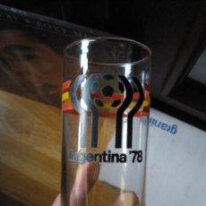 Coleccionismo de Coca-Cola y Pepsi: VASO PROMOCIONAL DEL MUNDIAL DE ARGENTINA 78 BANDERA ESPAÑOLA. Lote 38976301