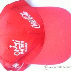 Coleccionismo de Coca-Cola y Pepsi: GORRA COCA COLA JMJ 2011. Lote 38989036