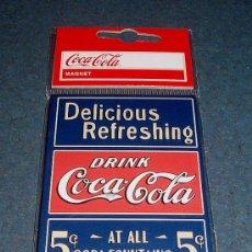 Coleccionismo de Coca-Cola y Pepsi: IMÁN COCA-COLA. Lote 39050423